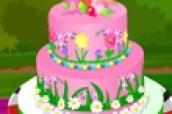 Spring Cake Decoration